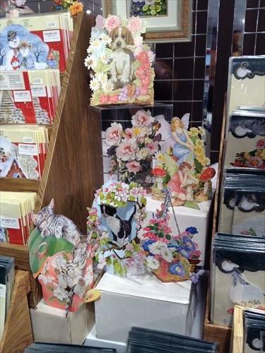 阪急百貨店・英国フェア2014・カード