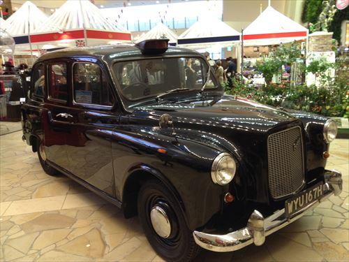 阪急百貨店・英国フェア2014・英国タクシー
