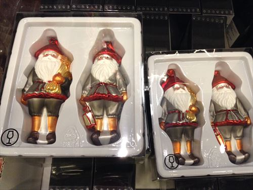 IKEAクリスマスオーナメント・サンタクロース