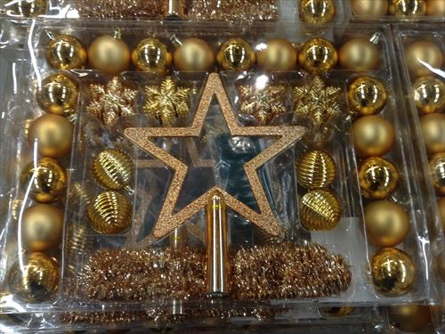 IKEAクリスマスオーナメント大きな星