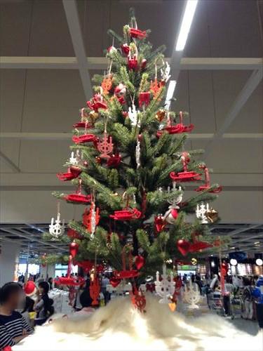 IKEAクリスマスツリーオーナメント
