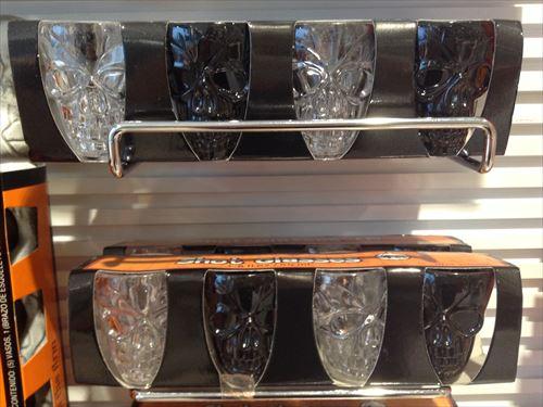 雑貨ストアASOKOのハロウィングッズ・ガイコツのグラス