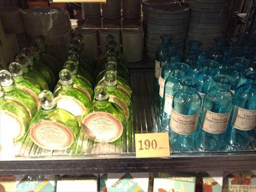 オーサムストアの雑貨。カワイイ瓶