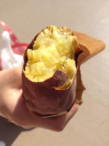 有機金時芋の焼き芋