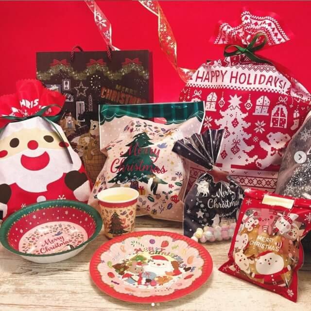 キャンドゥクリスマスグッズ2020年新作・パーティ用品とプレゼントバッグ