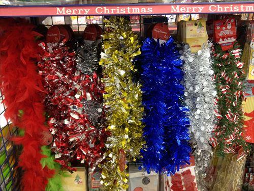 キャンドゥのクリスマスグッズ・部屋の飾りつけ