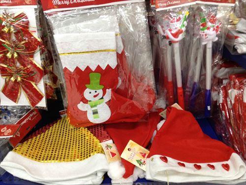 キャンドゥのクリスマスグッズ・サンタクロースコスチューム&衣装