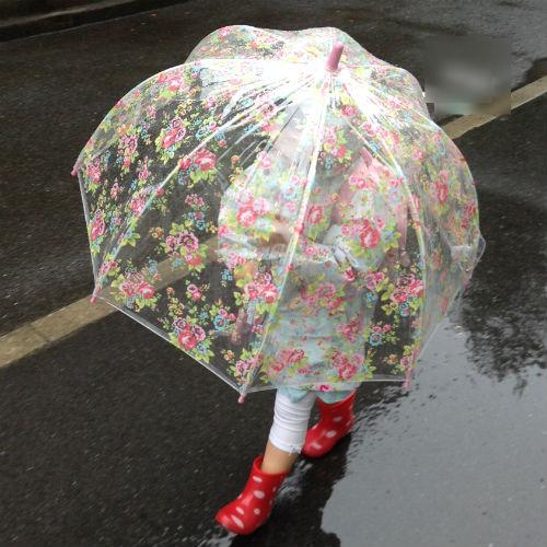 キャスキッドソン(キャスキッズ)の子供用傘の特徴・前から見た所