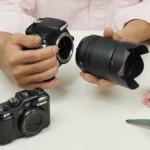 デジタル一眼レフカメラとミラーレス一眼レフカメラ