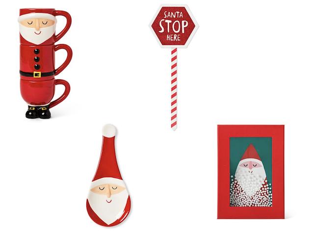 フライングタイガークリスマスグッズ2019年新作・サンタクロースマグやボックス