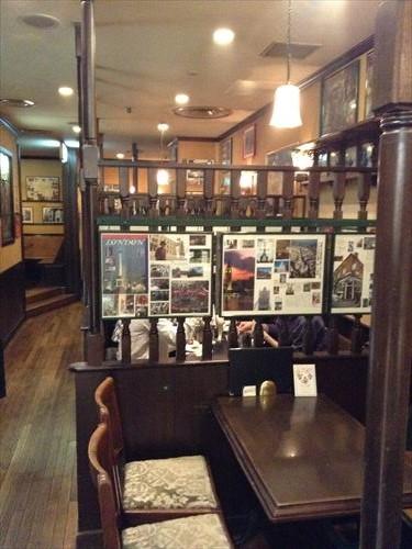 ロンドンティールーム・阪急メンズ館店・入り口付近