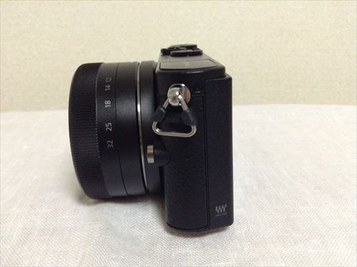 「LUMIX DMC-GM1K」左側