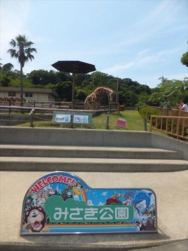 みさき公園・動物園・きりん