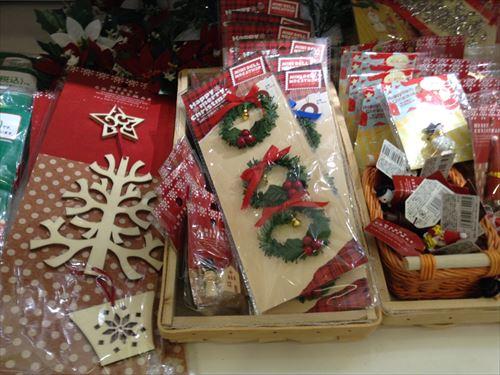 セリアのクリスマスグッズ