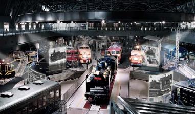 鉄道博物館・車両ゾーン
