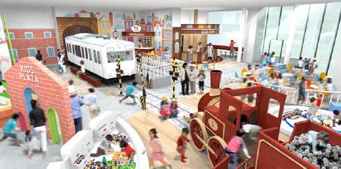 鉄道博物館・キッズスペース