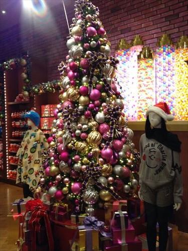 USJのクリスマスデコレーション