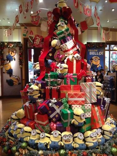 USJのクリスマスデコレーション・クリスマスツリー