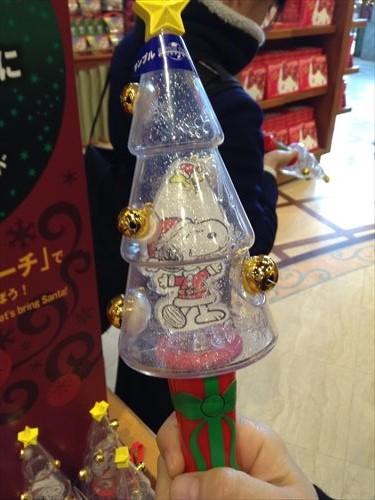 USJのクリスマスグッズ&プレゼント・サンタのトイマーチ