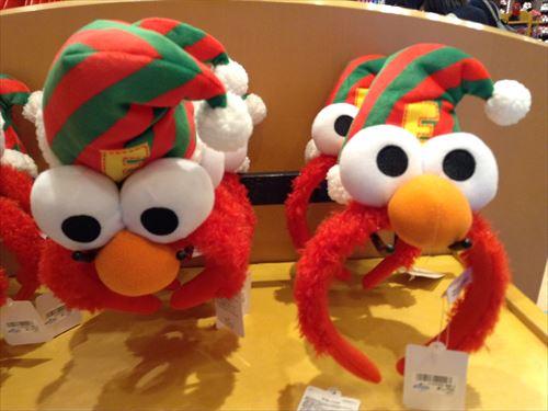 USJのクリスマスグッズ&プレゼント・エルモカチューシャ