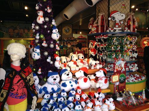 USJのクリスマスグッズ&プレゼント・スノーマンスヌーピー