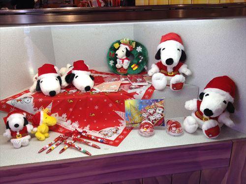 USJのクリスマスグッズ&プレゼント・クリスマス限定スヌーピーグッズ