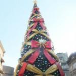 ユニバーサルスタジオジャパン(USJ)クリスマスツリー