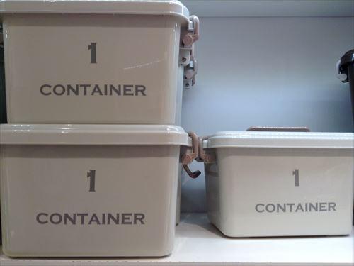 3COINSの収納ボックス