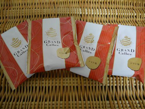 グランカルビー・トマト味4袋