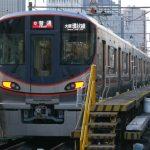 大阪環状線新型車両323系、正面から