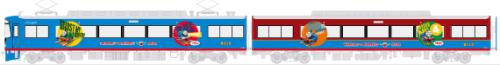 京阪線8000系きかんしゃトーマス号2015