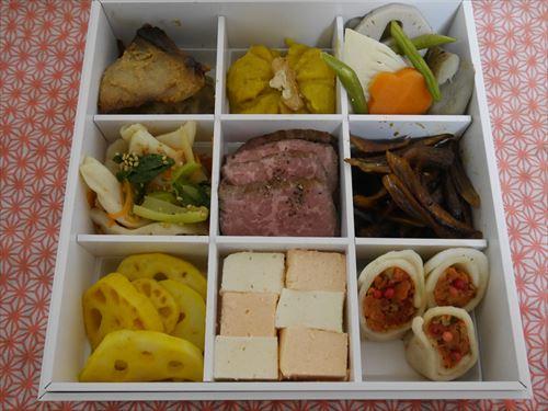 有機野菜宅配ビオマルシェの「畑の恵みおせちセット」二の重