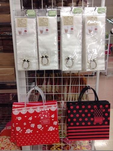 ダイソーのバレンタインチョコ・紙バッグ