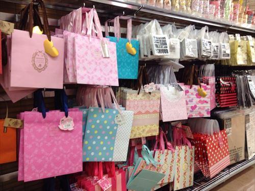 バレンタインチョコ用紙バッグ