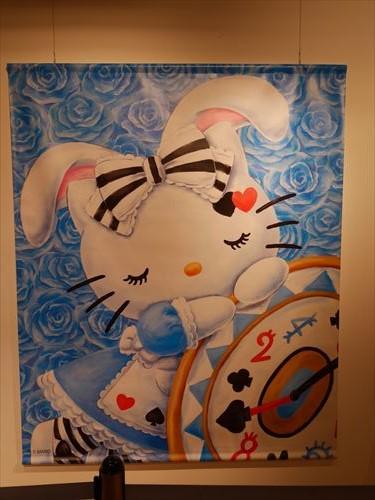 ハローキティアート展・アリスへの憧れ