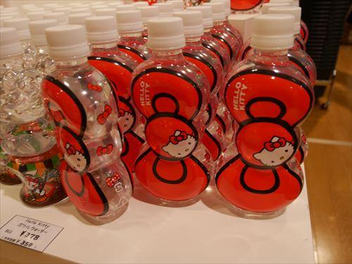 ハローキティアート展・ハローキティのボトルウォーター