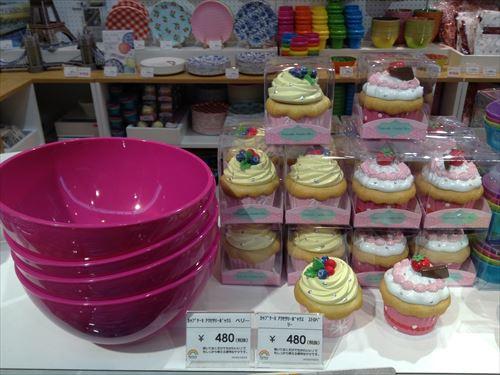 レインボースペクトラムのバレンタイン関連グッズ・ボウルとカップケーキアクセサリーボックス