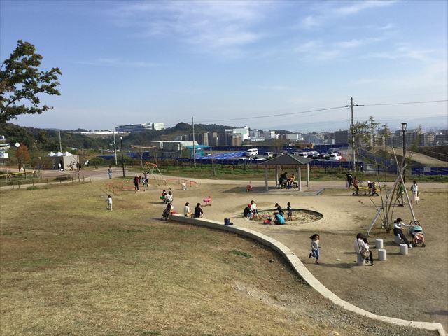 「彩都なないろ公園」幼児向け遊具