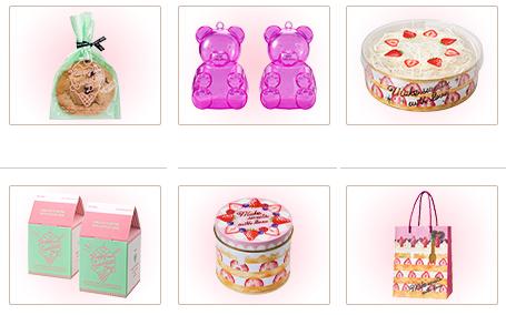 セリア2019年バレンタインチョコレートグッズ・缶、バッグ、パック、プラスチックケース