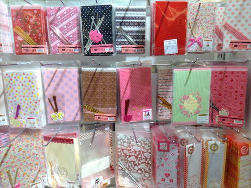 セリアのバレンタインチョコレート関連グッズ(ラッピング袋)