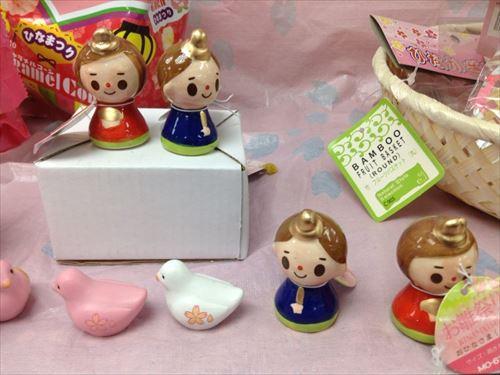 キャンドゥのひな祭り・ひな人形関連グッズ・お内裏様&お雛様