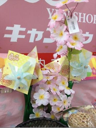 キャンドゥのひな祭り・ひな人形関連グッズ・春の花