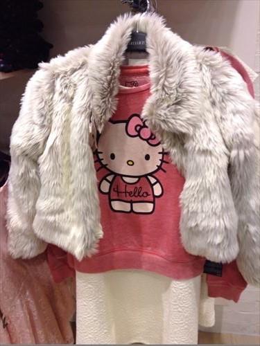 フォーエバー21・ガールズの子供服・ハローキティ