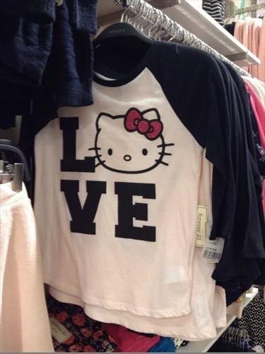 フォーエバー21・ガールズの子供服・キティ