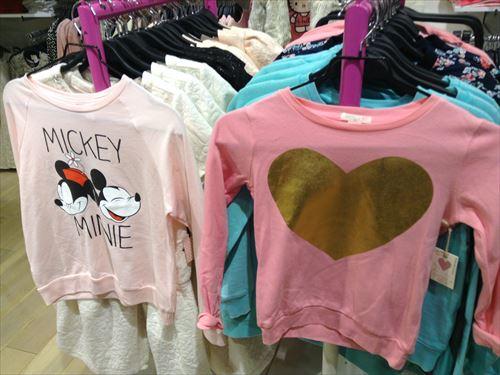 フォーエバー21・ガールズの子供服・ミッキー&ミニー