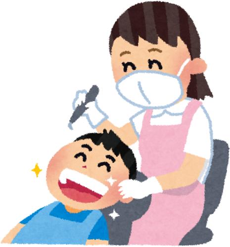 歯科・虫歯治療の様子