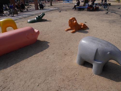 3歳~6歳遊具・幼児向け・動物ユニット