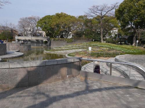 住吉公園内の池