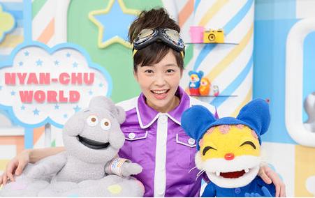2015年度「ニャンちゅうワールド放送局」美紀ちゃんの様子