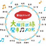 大阪環状線の全駅発車メロディ